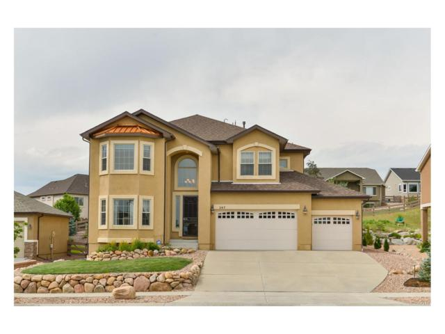 247 Coyote Willow Drive, Colorado Springs, CO 80921 (MLS #3096344) :: 8z Real Estate