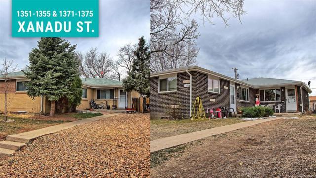 1351 Xanadu Street, Aurora, CO 80011 (#3096666) :: RE/MAX Professionals