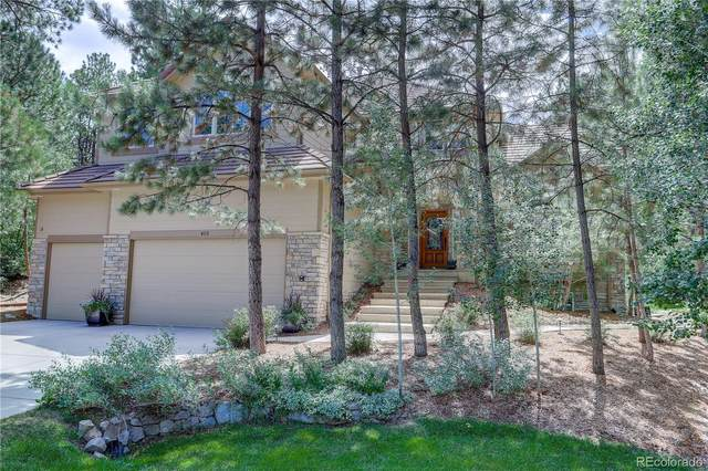 452 Argosy Way, Castle Rock, CO 80108 (#3097815) :: Peak Properties Group