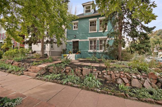 1279 Vine Street, Denver, CO 80206 (#3098765) :: The HomeSmiths Team - Keller Williams