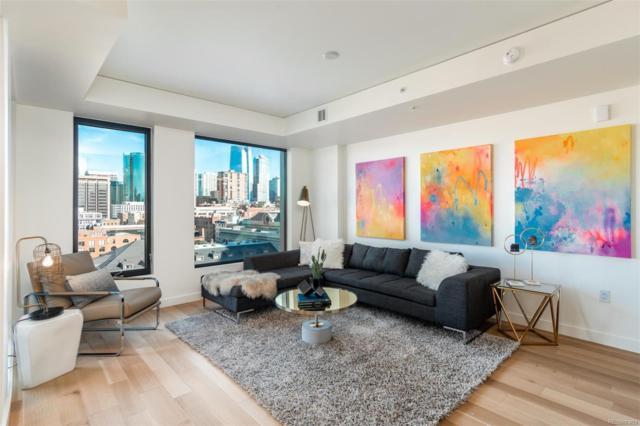 1750 Wewatta Street #928, Denver, CO 80202 (MLS #3100833) :: 8z Real Estate