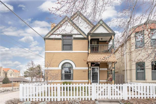 2822 Hazel Court, Denver, CO 80211 (#3101081) :: 5281 Exclusive Homes Realty