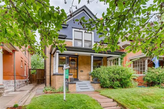 246 N Sherman Street, Denver, CO 80203 (#3103437) :: Chateaux Realty Group