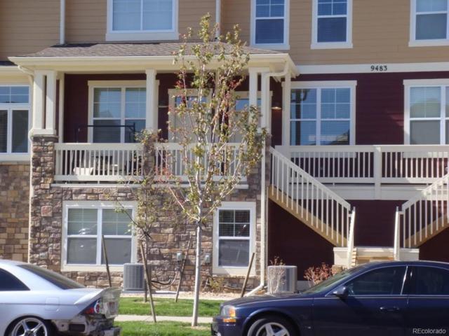 9483 Ashbury Circle #104, Parker, CO 80134 (#3103738) :: The Peak Properties Group