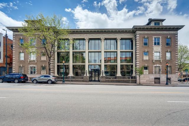 1210 E Colfax Avenue #305, Denver, CO 80218 (#3104386) :: The Griffith Home Team