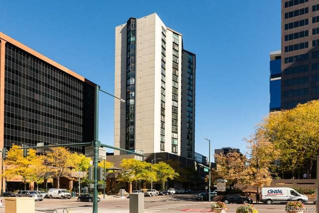 1777 Larimer Street #2108, Denver, CO 80202 (MLS #3106344) :: Re/Max Alliance