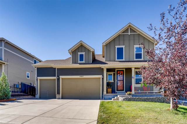 11617 Yellow Daisy Drive, Parker, CO 80134 (MLS #3107610) :: 8z Real Estate