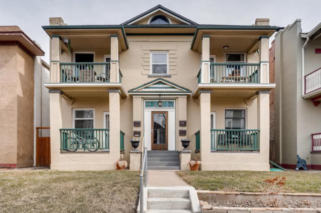 1752 N Franklin Street #4, Denver, CO 80218 (#3107638) :: My Home Team