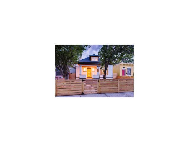3639 N Humboldt Street, Denver, CO 80205 (MLS #3109017) :: 8z Real Estate