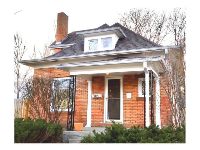 1005 S Washington Street, Denver, CO 80209 (#3113536) :: Wisdom Real Estate