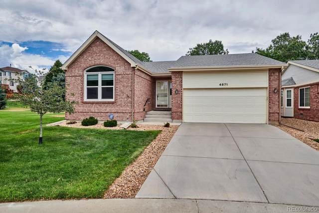 4871 Greenwich Drive, Highlands Ranch, CO 80130 (#3113682) :: The Dixon Group