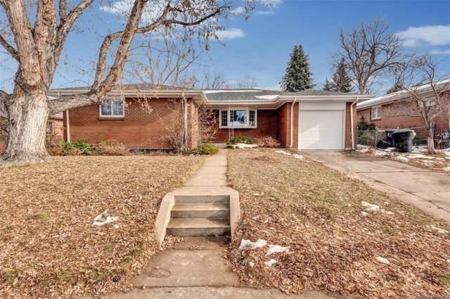 1652 S Grape Street, Denver, CO 80222 (#3114166) :: The HomeSmiths Team - Keller Williams