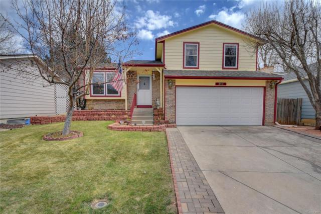 8451 W Star Circle, Littleton, CO 80128 (#3116480) :: House Hunters Colorado