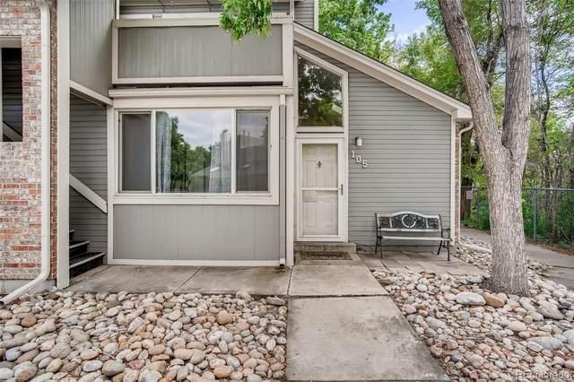 4911 Garrison Street 105A, Wheat Ridge, CO 80033 (MLS #3119764) :: Wheelhouse Realty