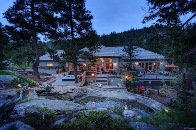 6887 Timbers Drive, Evergreen, CO 80439 (#3121056) :: Mile High Luxury Real Estate