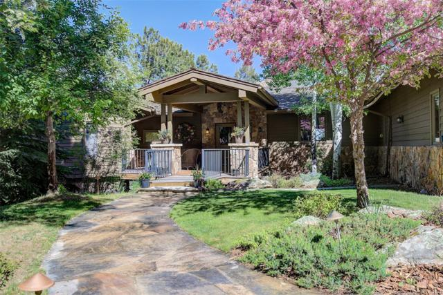 2545 Baltusrol Lane, Evergreen, CO 80439 (#3125255) :: The City and Mountains Group