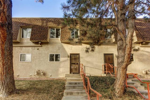 7755 E Quincy Avenue T60, Denver, CO 80237 (#3128596) :: Colorado Home Finder Realty