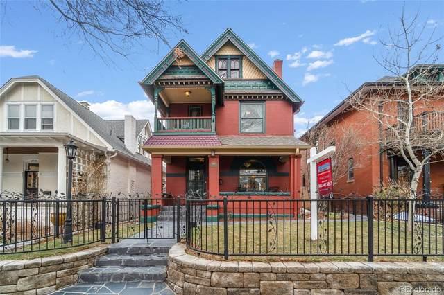 1436 Elizabeth Street, Denver, CO 80206 (#3129027) :: Wisdom Real Estate