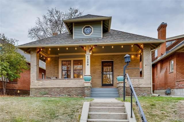 1269 Monroe Street, Denver, CO 80206 (MLS #3130154) :: The Sam Biller Home Team