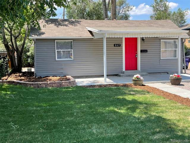 847 S Newton Street, Denver, CO 80219 (#3133081) :: Own-Sweethome Team