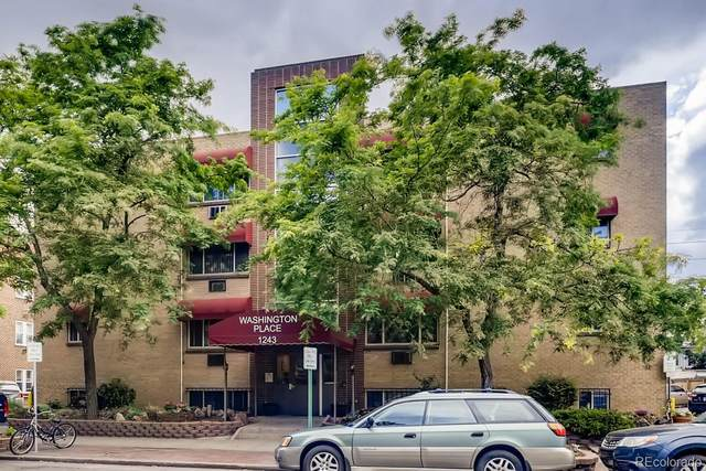 1243 Washington Street #201, Denver, CO 80203 (#3133103) :: HomeSmart Realty Group