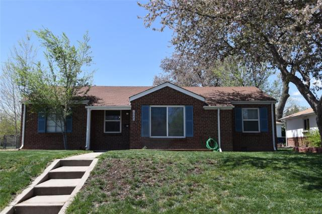 1225 Quince Street, Denver, CO 80220 (#3135850) :: The Pete Cook Home Group