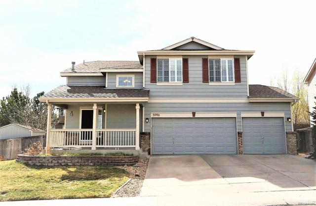 5996 Panther Butte, Littleton, CO 80124 (#3138776) :: The Peak Properties Group