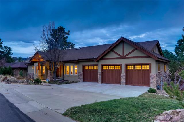 2398 Oak Vista Court, Castle Rock, CO 80104 (#3140339) :: Compass Colorado Realty