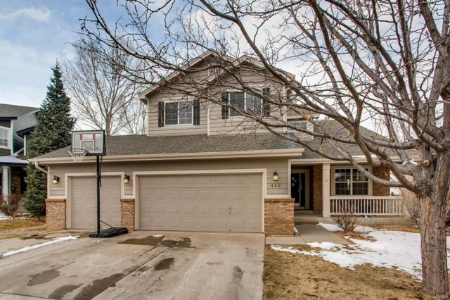 440 Rose Finch Circle, Highlands Ranch, CO 80129 (#3142179) :: Bring Home Denver
