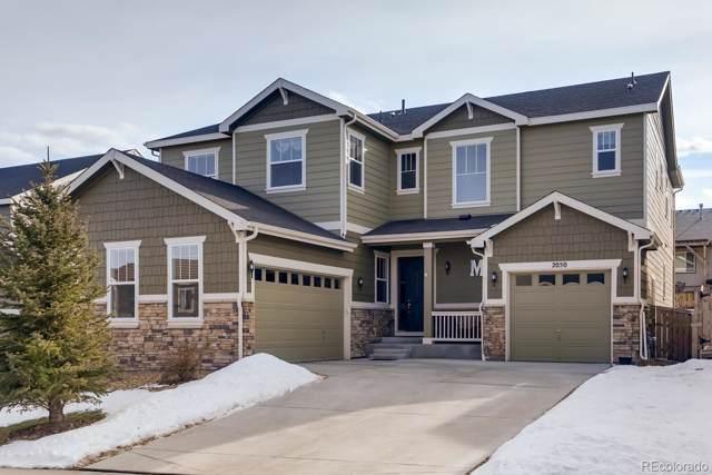 2050 Treetop Drive, Castle Rock, CO 80109 (MLS #3142808) :: 8z Real Estate