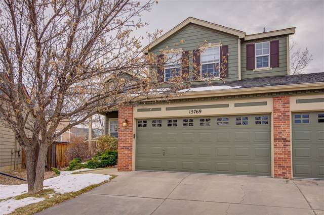 15769 Crystallo Drive, Parker, CO 80134 (#3143520) :: Bring Home Denver with Keller Williams Downtown Realty LLC