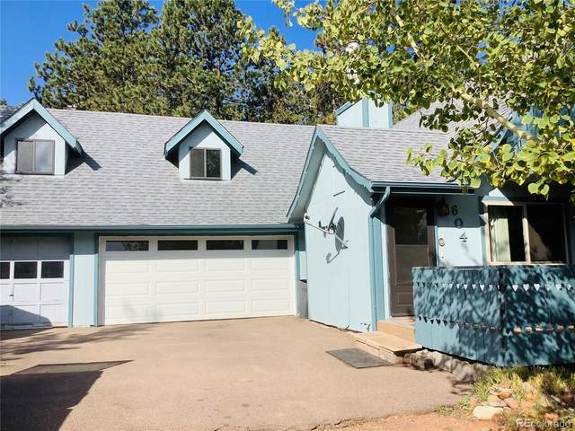 604 Whispering Winds Drive, Woodland Park, CO 80863 (#3144215) :: The DeGrood Team