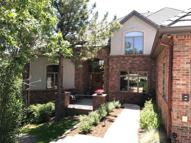 349 Silver Cloud Place, Castle Rock, CO 80108 (#3144357) :: Group 46:10 - Denver