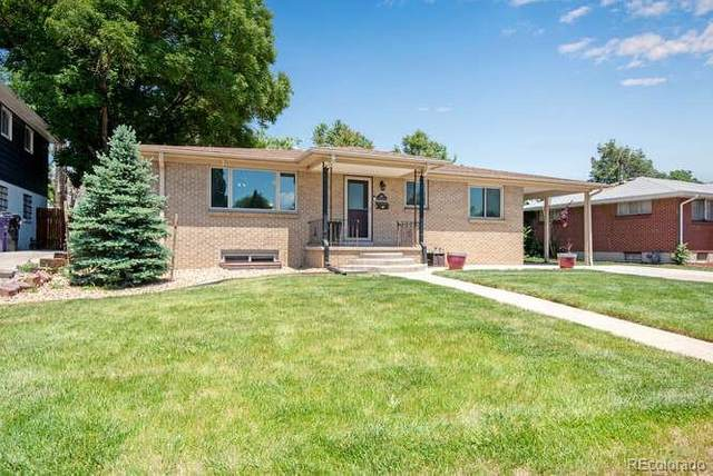 3355 E Montana Place, Denver, CO 80210 (#3144855) :: Portenga Properties