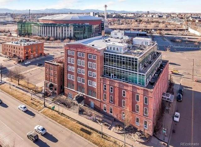 1143 Auraria Parkway #103, Denver, CO 80204 (#3147867) :: Berkshire Hathaway Elevated Living Real Estate