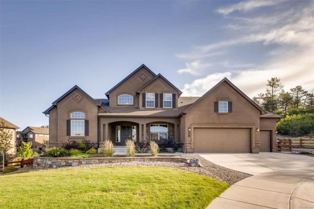 216 Kettle Valley Way, Monument, CO 80132 (#3149333) :: The Griffith Home Team