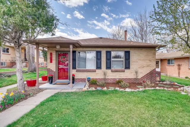 2471 S Corona Street, Denver, CO 80210 (#3156993) :: 5281 Exclusive Homes Realty