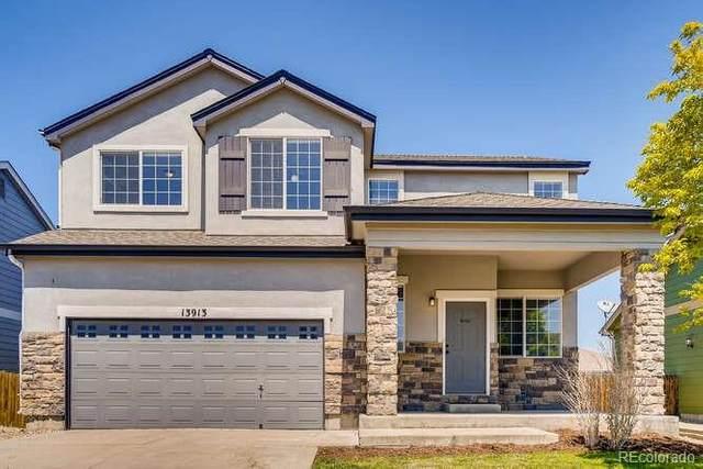 13913 E 104th Place, Commerce City, CO 80022 (#3159142) :: Stephanie Fryncko | Keller Williams Integrity