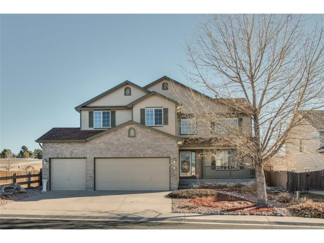 11214 Glenmoor Circle, Parker, CO 80138 (#3163617) :: The Sold By Simmons Team