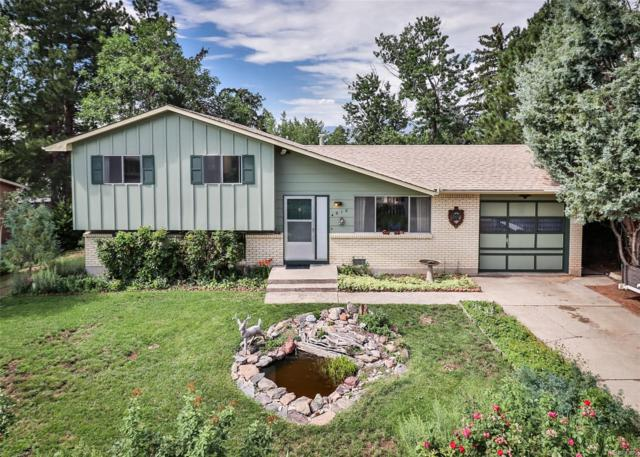 4910 Villa Circle, Colorado Springs, CO 80918 (#3164547) :: Mile High Luxury Real Estate