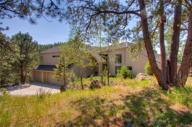 24998 Foothills Drive, Golden, CO 80401 (#3166944) :: The Peak Properties Group