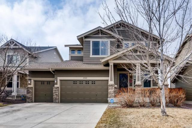 21022 E Jefferson Circle, Aurora, CO 80013 (#3168520) :: The HomeSmiths Team - Keller Williams