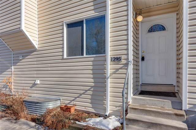 1295 Benton Street, Lakewood, CO 80214 (#3169424) :: Bring Home Denver with Keller Williams Downtown Realty LLC