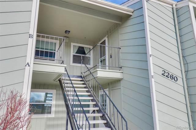 2260 E Geddes Avenue F, Centennial, CO 80122 (#3169813) :: Kimberly Austin Properties