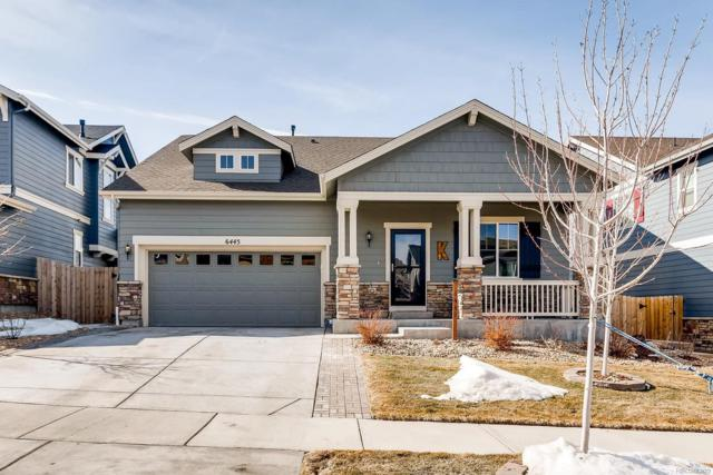 6445 S Harvest Street, Aurora, CO 80016 (MLS #3172563) :: Keller Williams Realty