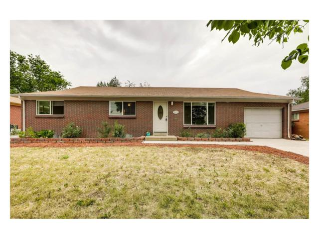 315 Galena Street, Aurora, CO 80010 (MLS #3173711) :: 8z Real Estate