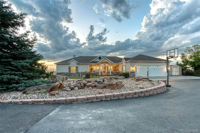 20939 Arrowshaft Trail, Parker, CO 80138 (#3174496) :: The Griffith Home Team