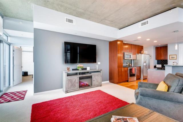 1700 Bassett Street #817, Denver, CO 80202 (MLS #3176715) :: 8z Real Estate