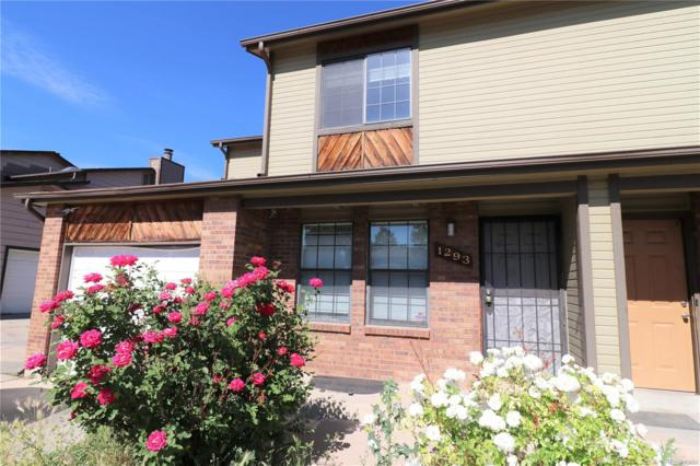 1293 Sable Boulevard, Aurora, CO 80011 (#3179616) :: The Peak Properties Group