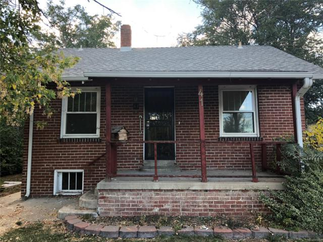 41 S Newton Street, Denver, CO 80219 (#3181782) :: My Home Team
